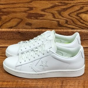 Converse PL 76 Ox White White White Shoes